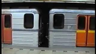 Uwe Koch: Ruské vlaky metra ve stanicích VL, VY a PP (prosinec 1999)