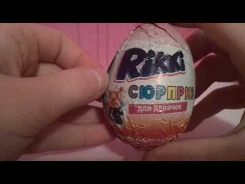Открываем ДЕШЁВЫЕ шоколадные яйца с сюрпризом