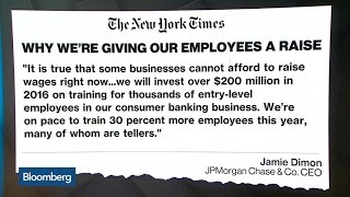 Jamie Dimon Gives Thousands of JPMorgan Employees a Raise