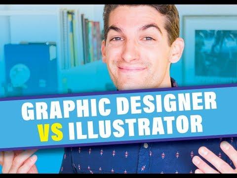 Graphic Designer Vs Illustrator