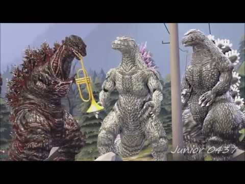 We are Number One but it's the Godzilla version and it's animated in SFM