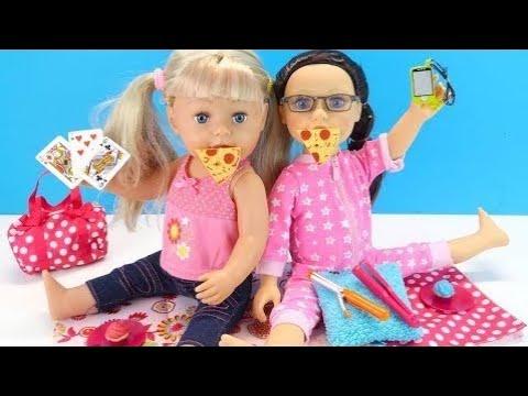 БЕБИ БОН Не Разрешают Идти На Пижамную Вечеринку Как Мама Играла в Куклы Мультик