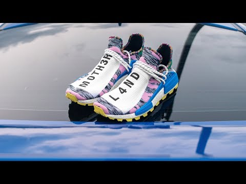 Is the NEW Pharrell Afro Hu NMD LACKLUSTER?! | Pharrell SOLAR HU NMD Light Pink REVIEW