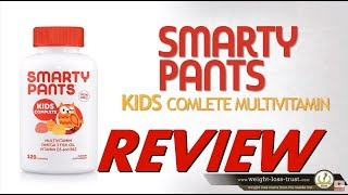 SmartyPants Kids Complete Multivitamin Review -- Multivitamin, Vitamin D3, and Omega-3s