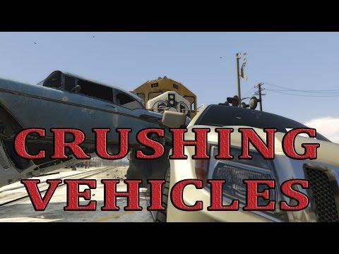 GTA V - Train VS Vehicles