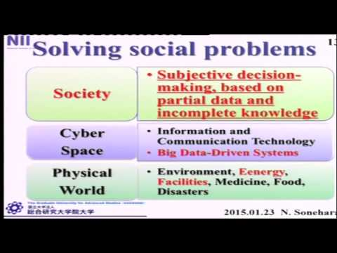 Grand Challenges in Informatics, Big Data driven ICT innovation in Cyber-Physical Integrated Society