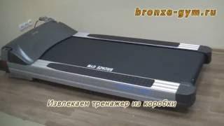 видео Велотренажер BRONZE GYM R1001 PRO