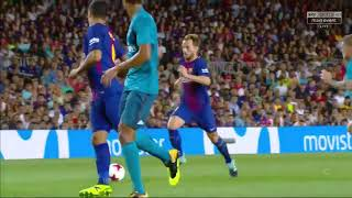Barcelona vs Real Madrid 1-3 Super Cup 2017 Full Highlights English Commentary HD