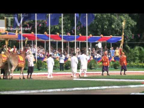 The Royal Ploughing Ceremony Phnom Penh, Cambodia