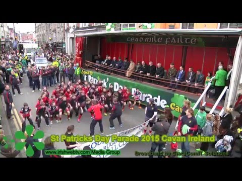 St Patrick's Day Parade 2015 Cavan Town  Ireland