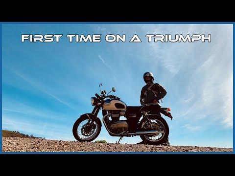 Triumph Bonneville T100 Test Ride through Malibu | I was a Triumph Virgin