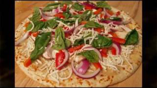 Spicy Green Curry Shrimp Pizza Recipe Video