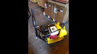 Виброплита бензиновая tss VP60TRH - 69кг с ковриком для укладки тротуарной плитки и брусчатки