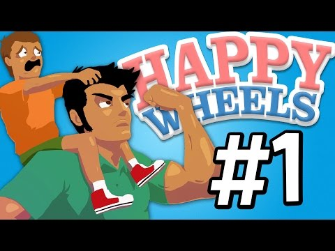 MY SON LOVES MINECRAFT (Happy Wheels Funny Moments) #1