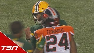 Harris And Esks Give Reilly Rude Welcome In Return To Edmonton - Cfl Wired - Week 2