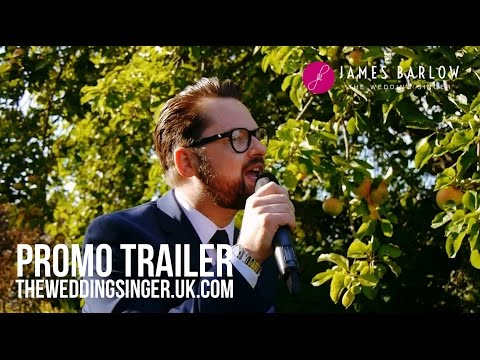 James Barlow - 'The Wedding Singer' Promotional Video Medley