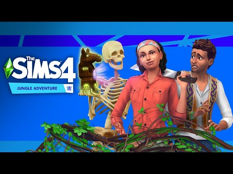 The Sims 4 Jungle Adventure (Jungle Explorer Aspiration) |
