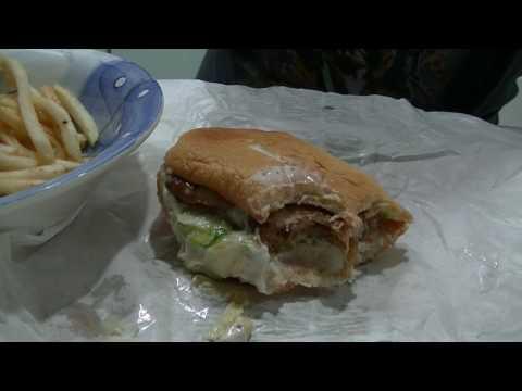 Grilled Chicken Burger, Mc Donalds