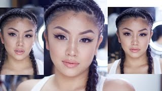Glowy Summer Makeup Tutorial (oily combination skin)| Mariel Buizon