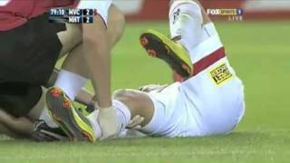 Kevin Muscat Red Card vs Melbourne Heart 22/1/11 thumbnail