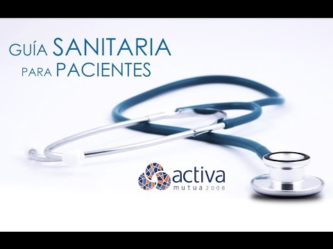 Ver en youtube el video Guía sanitaria para pacientes. Número 2.