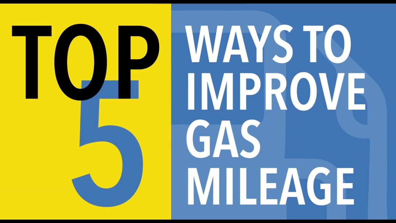 Top 5 Ways to Improve Gas Mileage - CARFAX - YouTube