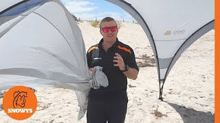 Coleman Event 14 Sun Shelter + Sunwall - How to setup and pack away