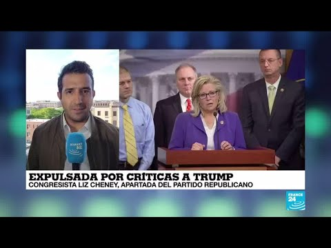 Informe desde Washington: republicanos expulsan a la crítica de Trump, Liz Cheney