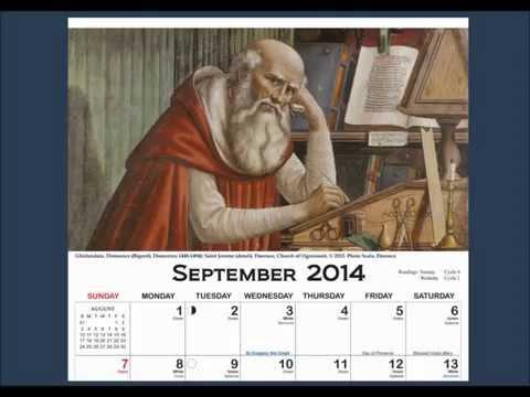 Columban - Calendar Art Guide - September 2014