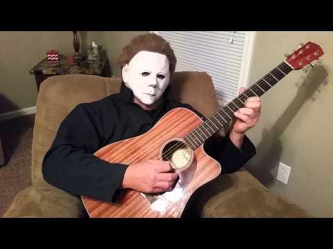 Michael myers plays halloween theme song