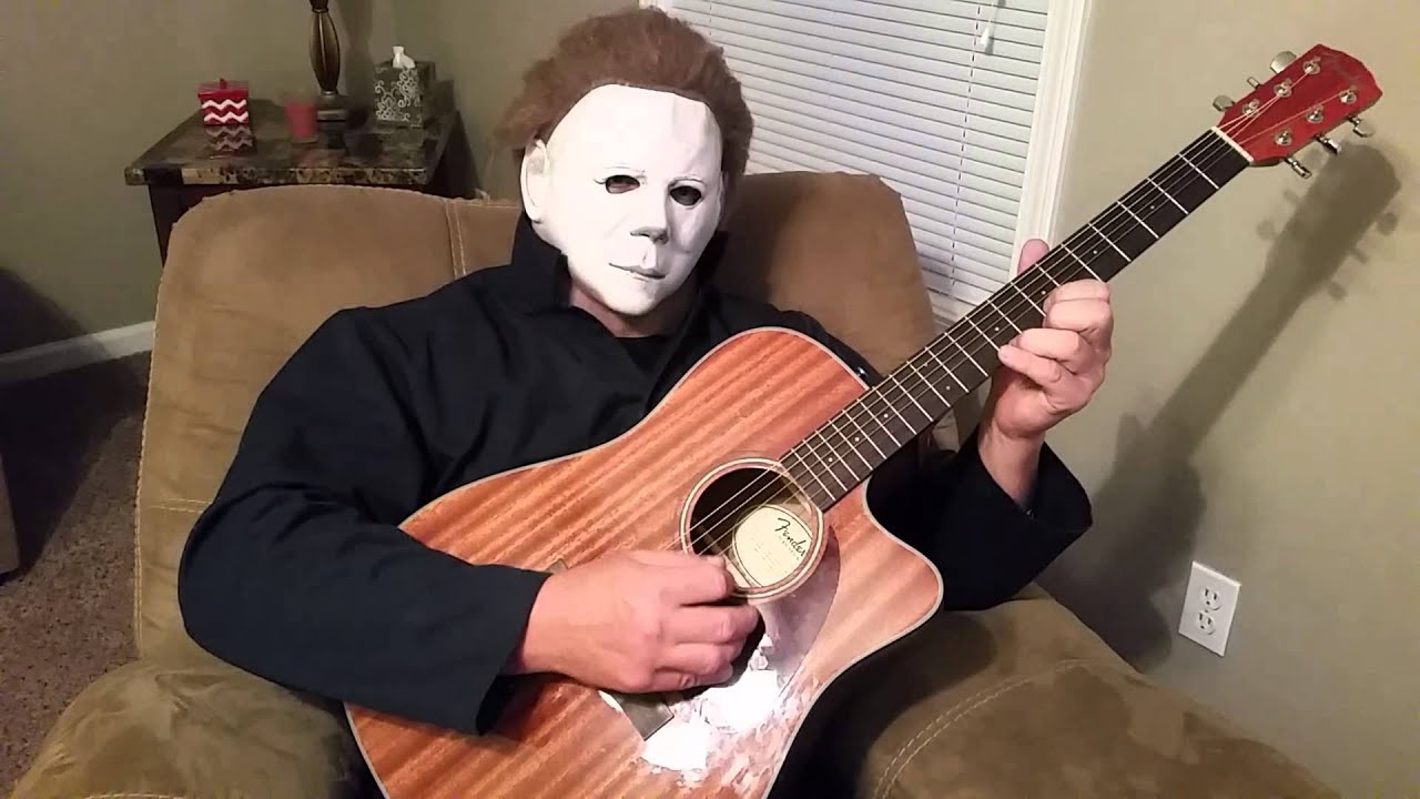 michael myers plays halloween theme song - Halloween Theme Song Guitar