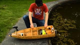 25cc RC Boat Project - Part 6 - Test Drive
