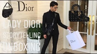 COME SHOPPING WITH ME IN DIOR + UNBOXING
