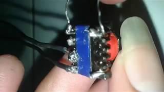 Download Video cara membuat mini inverter 1.5v-220v dari trafo bekas charger hp MP3 3GP MP4