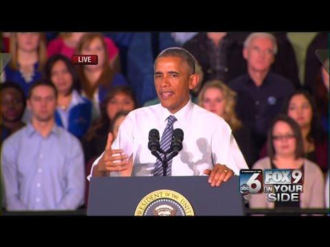 Entire Obama speech at Boise State University