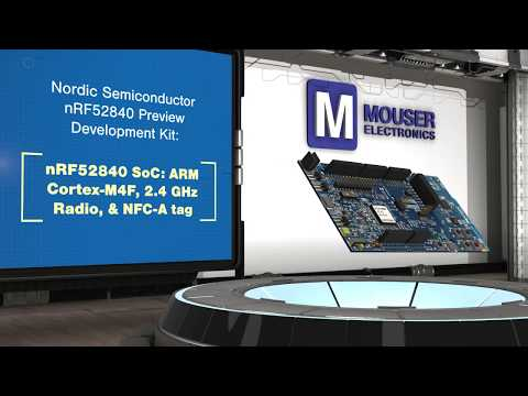 Nordic Semiconductor's nRF52840 Preview Development Kit