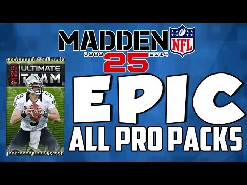 Madden 25 Ultimate Team | EPIC ALL PRO PACK OPENING!