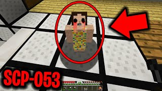 This SCP makes you go CRAZY in Minecraft.... (SCP-053 in Minecraft)