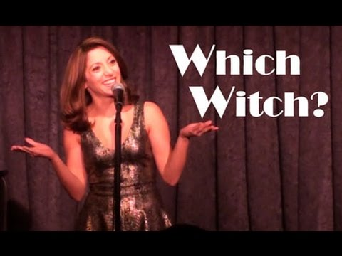 'Which Witch?' - an Into The Woods medley by Christina Bianco. | Christina Bianco
