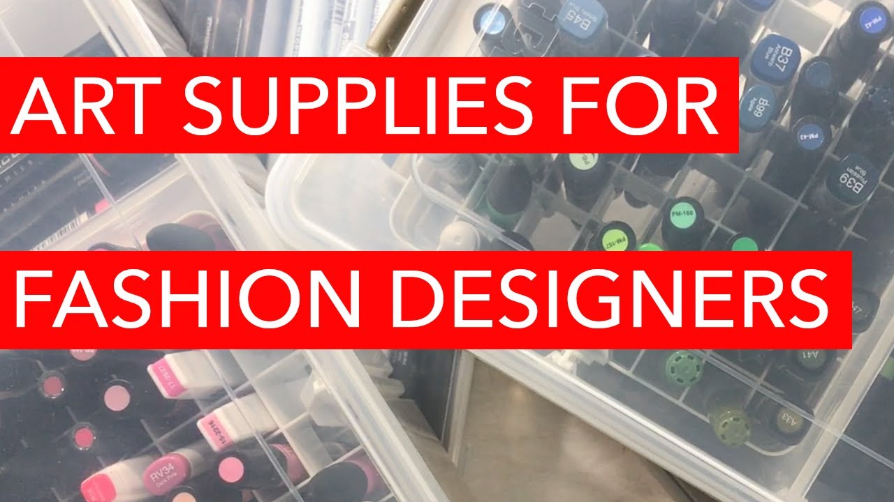 Art supplies for fashion design 14
