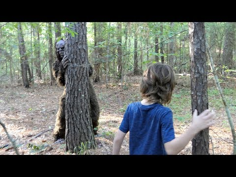 We Found BIGFOOT In The Woods!