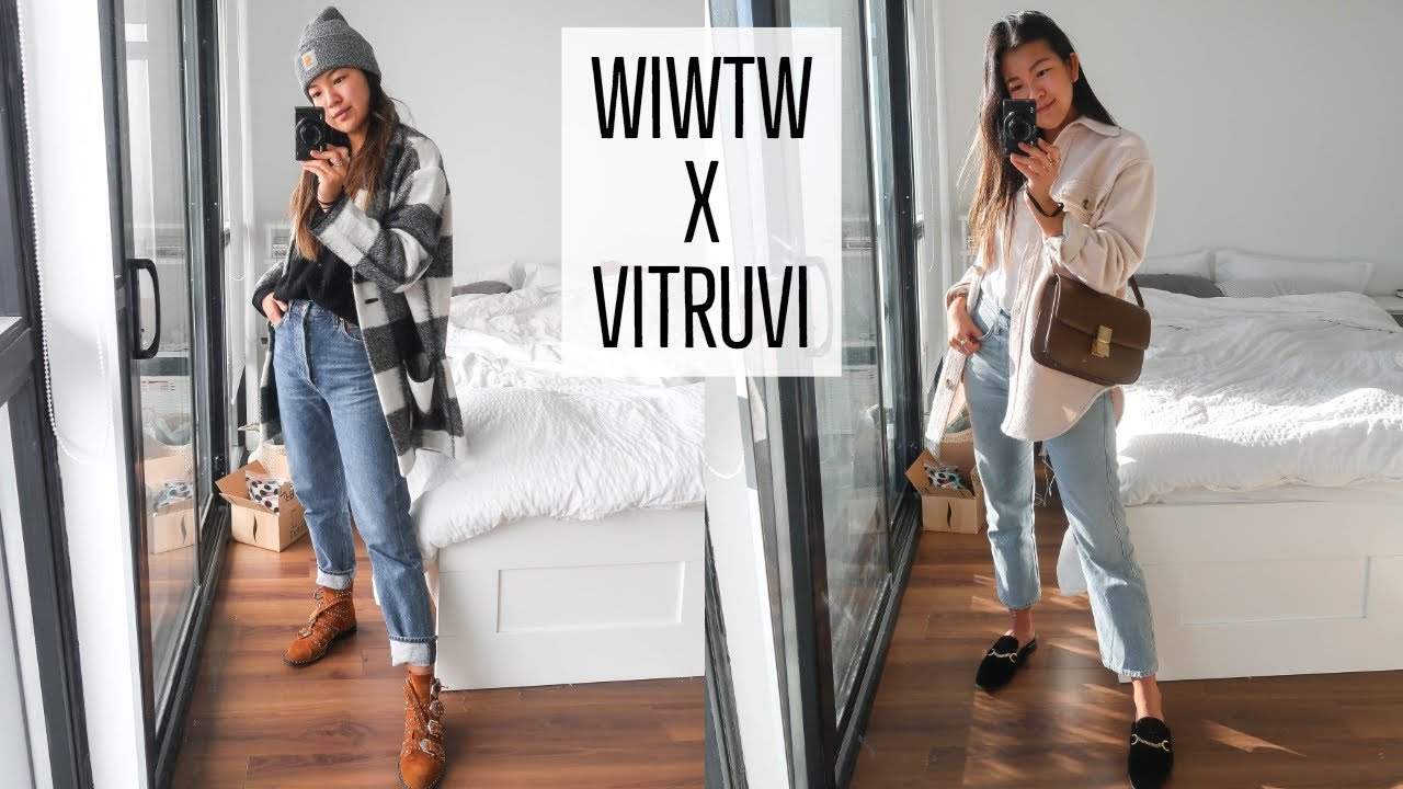 FALL OUTFIT IDEAS   GETTING DRESSED WITH VITRUVI   WHAT I WORE THIS WEEK