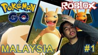 Psyduck where'd you go? | Pokemon Go #1 | Roblox Malaysia