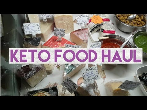 KETO FOOD HAUL | ITALIAN FOOD