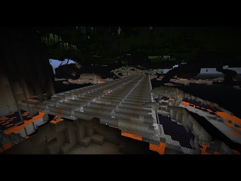 Time lapse - Mining on my old server (Testing custom camera angle)