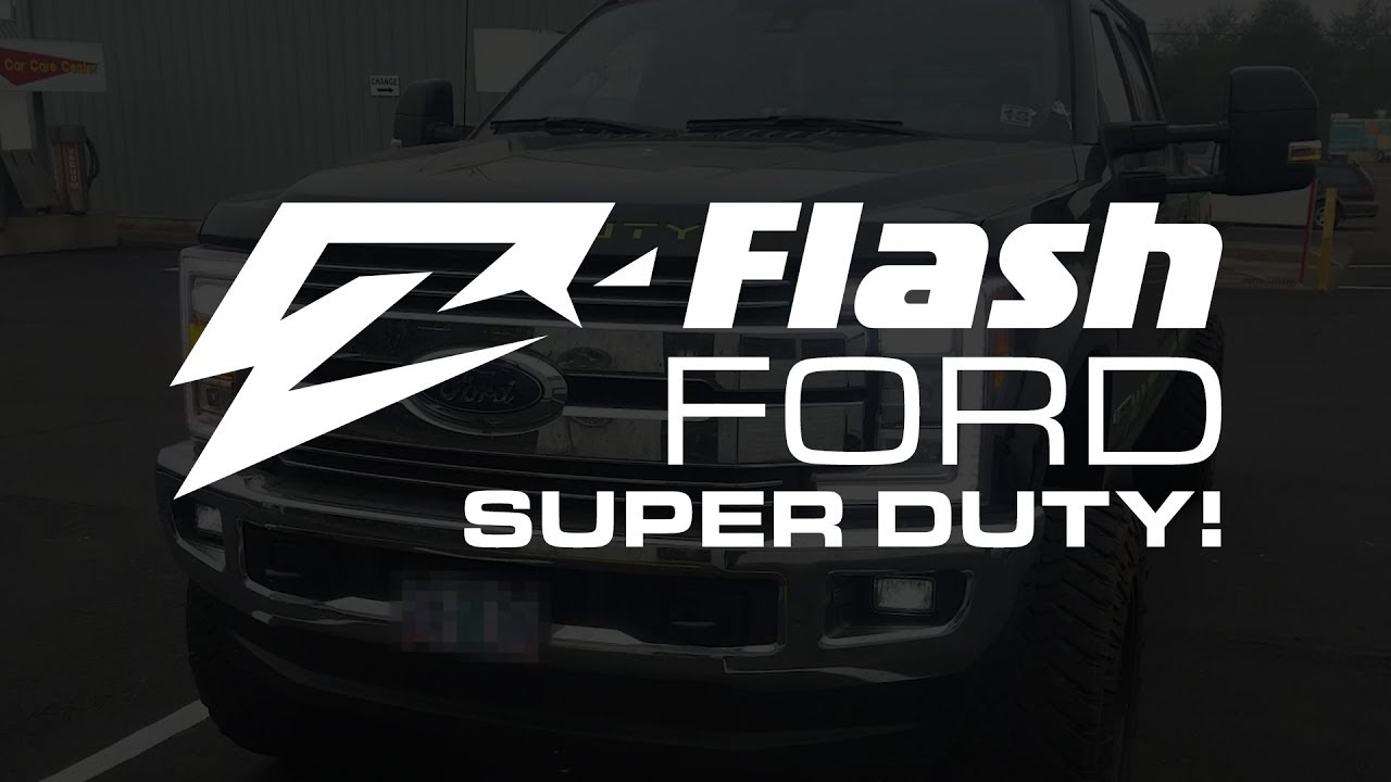 The Z Flash On A Ford Super Duty Youtube