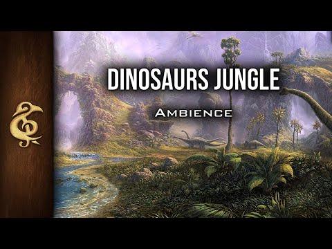 D&D Ambience | Dinosaurs Jungle | Nature, Danger, Realistic, T-Rex