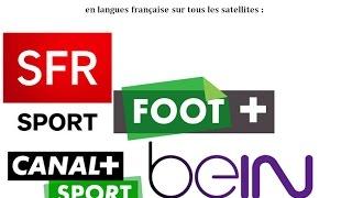 Fréquences de toutes les chaines de sport françaises sur toutes les satellites