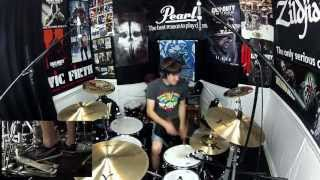 Black Label Society - Stillborn - Drum Cover