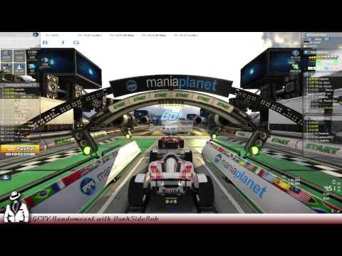 GCTV Randomcast Recap - Trackmania2 Stadium (PC) - Speed X Chaos = Lots of Restarts!